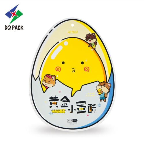 Flexible packaging EGG special shape pouch