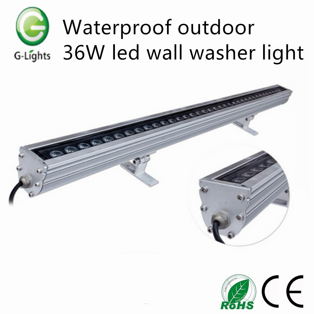 Waterproof outdoor 36W led wall washer light