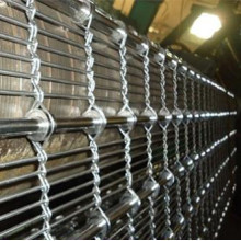 Double Wire Weaved Stainless Steel Decorative Mesh