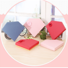 Customized Irregular Heart Shape Paper Gift Box