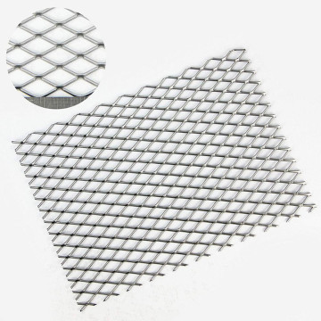 1 mm Galvanized Diamond Hole Metal Mesh