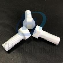 PTFE Screw Nut PTFE Machined Part
