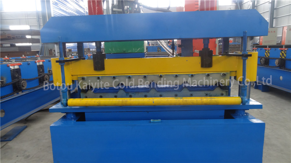 High frequency automatic steel and iron roof roll forming arching machine
