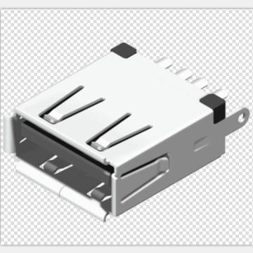 USB A Type Receptacle Solder Short Type