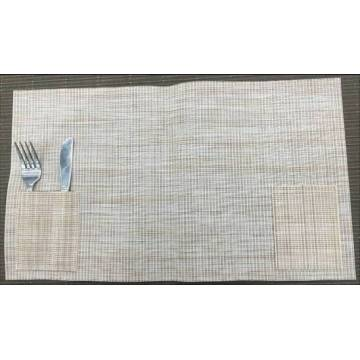 Meal mat with tableware pocket