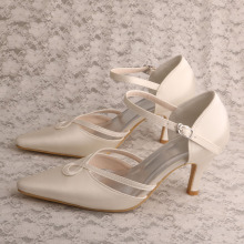 Mother of The Bride Cream Shoes Wedding
