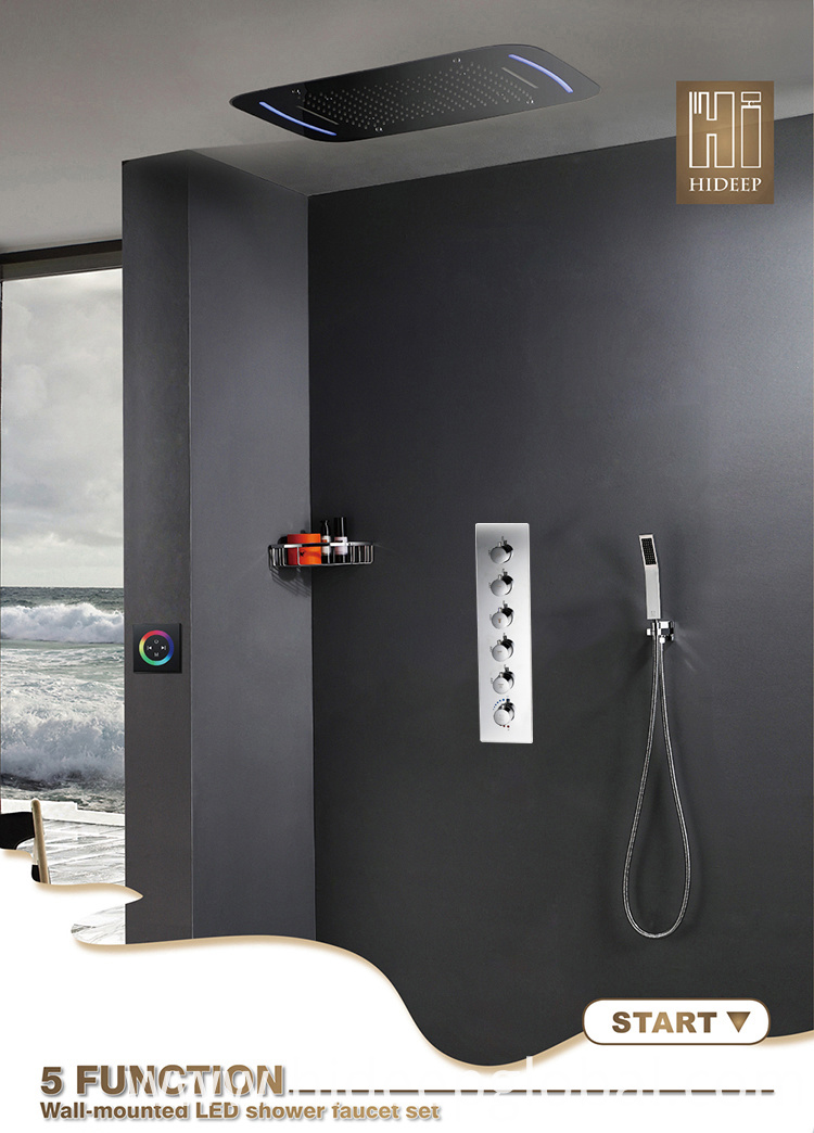Shower Mixer And Head