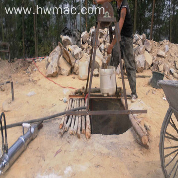 hydraulic rock and stone splitter for mine