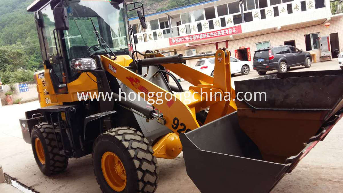 Mini Farm Wheel Loader