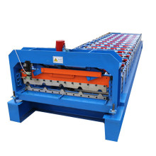 Professional factory selling for Trapezoidal Sheet Roll Forming Machine,Trapezoidal Joint Type,Tile Making Machine Manufacturers and Suppliers in China Metal Roof Panel Machine supply to Spain Wholesale