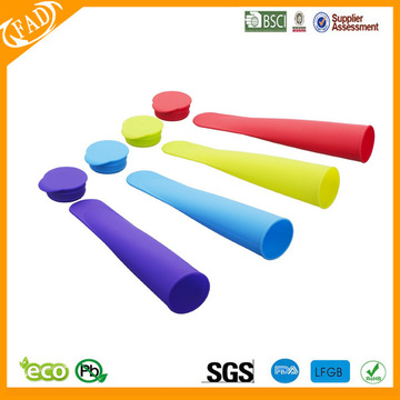 food grade silicone popsicle molds with stand