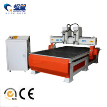 China for Cnc Wood Door Engraving Machine Double head Woodworking Machine with 2 head supply to Cuba Manufacturers