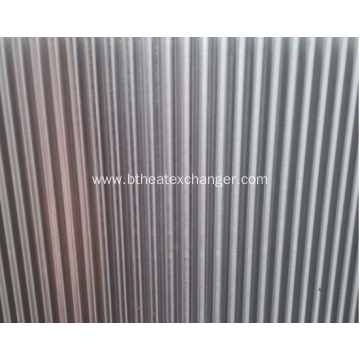 Aluminum Folded Plain Fin