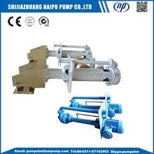 Vertical stainless steel centrifugal slurry pump