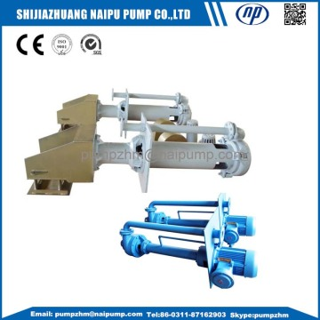 Vertical stainless steel centrifugal slurry pumps