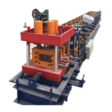 DX hydraulic C purlin roll forming machine