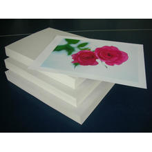 white double adhesive paper