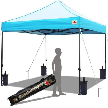 custom pop up heavy duty 10x10 folding canopy