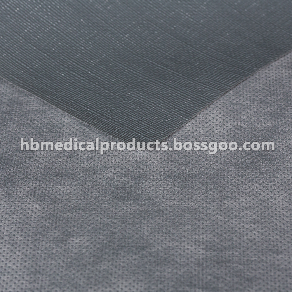 PP Nonwoven coated with non-slip PE film