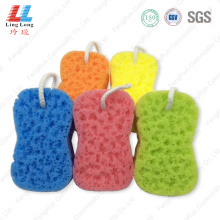 Smooth small style bath sponge