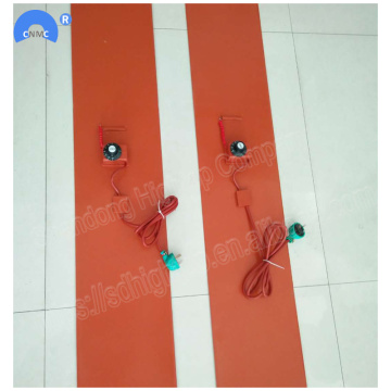200 * 1740mm 2kw Silicone Rubber Drum Belt Pemanas