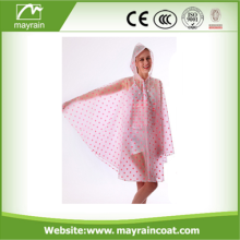 Adult Size Colorful Reusable Promotion PVC Poncho