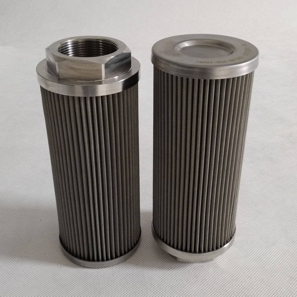 Hydraulic suction filter WU-160X100-J