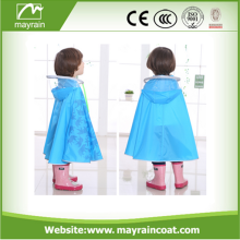 Cartoon Style Hooded Baby Beach children poncho