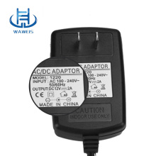 High Quality for 12W Wall Charger Wall plug 12v 1a ac dc power adapter supply to Gabon Exporter