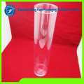 Soft Plastic Cylinder Tube Container Clear Tube Packaging