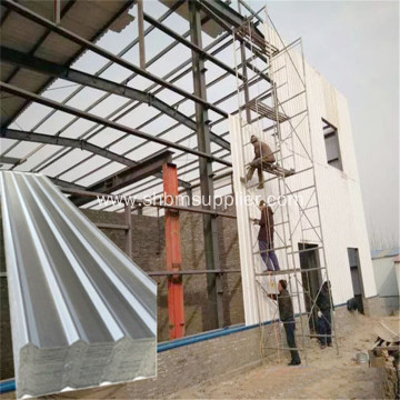 Corrosion Resistant Heat-Insulating 2.4m MgO Roofing Sheets