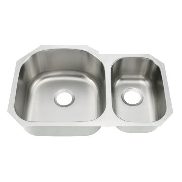 8153AL Undermount Double Bowl Kitchen Sink
