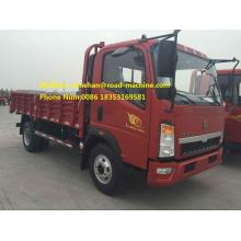 LHD Light Duty Trucks SINOTRUK HOWO 5 Tons