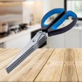 Kitchen Scissors Shears With 5 Stainless Steel Blades