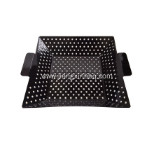 12 Inch Square Enamel Grilling Wok