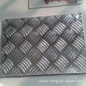 Aluminum Checker/Tread  Plate used for wall decoration with discount price