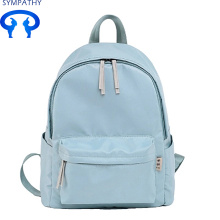 Online Exporter for Nylon Handbags Custom pure color nylon   backpack export to Netherlands Factory