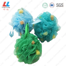 Sponge mesh lovely bath ball