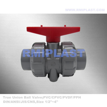 CPVC Socket Ball Valve DIN PN10