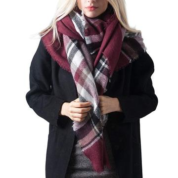 Hot New Products for Winter Tartan Scarf LADES Winter Tartan Scarf supply to Bangladesh Supplier