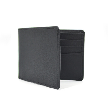 Trendy Ultra-thin Vintage Short Mens Pu Leather Wallet