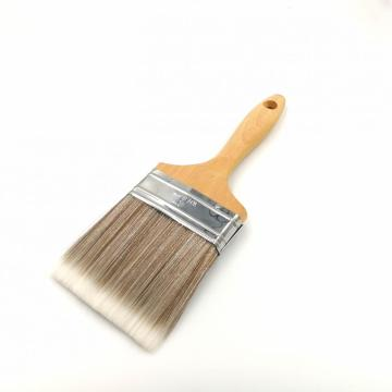 Wood Handle Wall Flat Paint Brushes