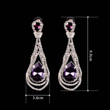 Foreign trade high-grade earring
