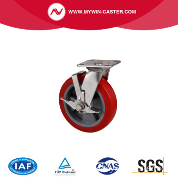 trolley casters with Plane swivel