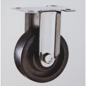 220℃ high temperature stainless bracket fixed casters