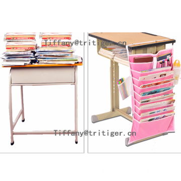 Factory Heavy-duty school desk hanging organizer for student