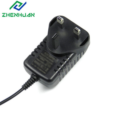 3Pin UK Plug CE-certifierad 9V AC / DC-adapter