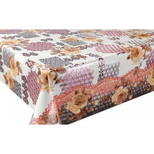 Square 3D Laser Coating Tablecloth