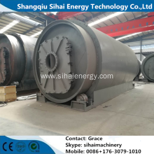 Tire Pyrolysis Without Pollution