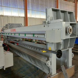 Sewage Plate Frame Filter Press PLC Control